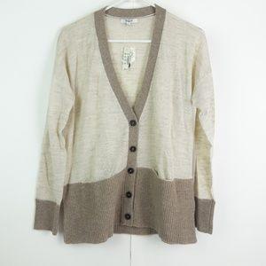 NWT Madewell Beautiful Wool Beige Cardigan